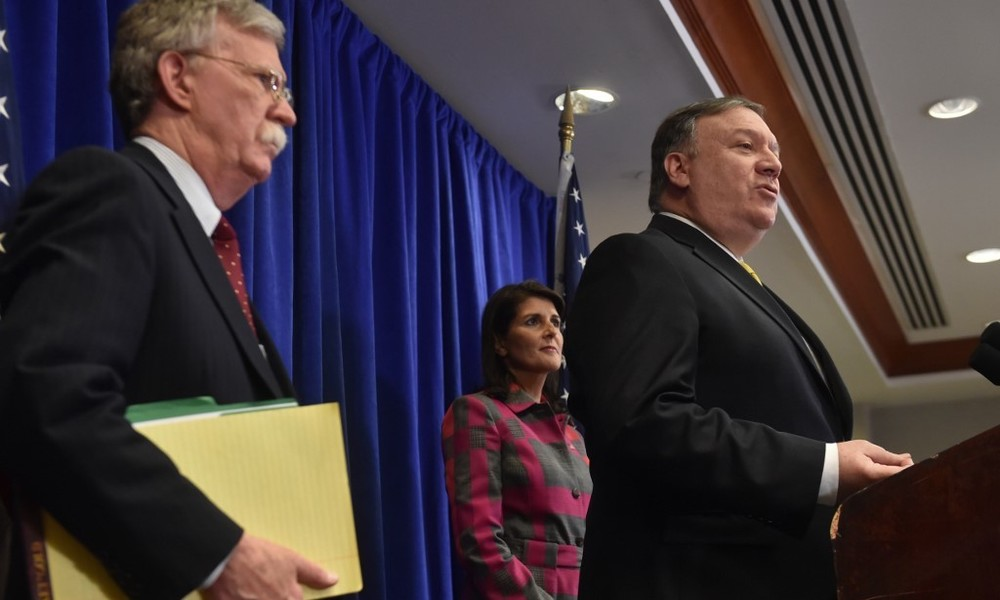 China verbietet Mike Pompeo und John Bolton Einreise