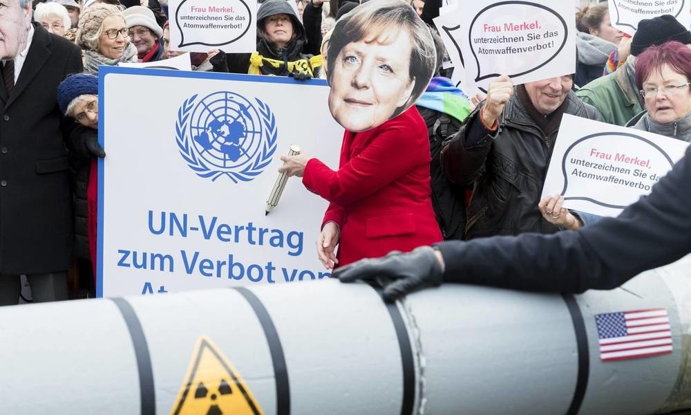 Bundesregierung lehnt UN-Vertrag zum Atomwaffenverbot ab