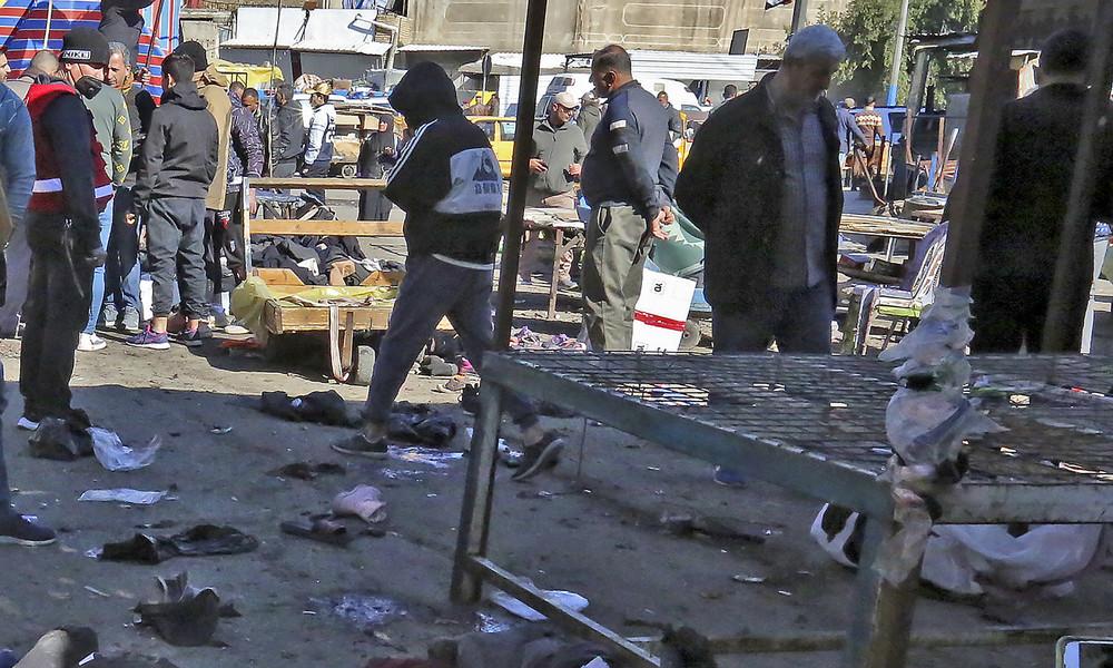 Irak: Mindestens 28 Tote bei einem doppelten Selbstmordanschlag in Bagdad