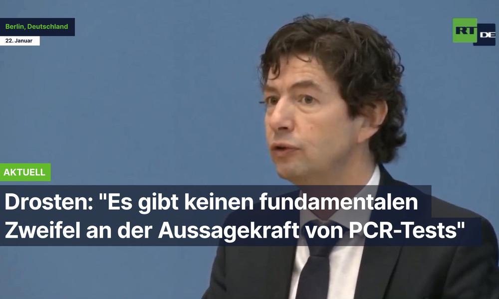 """Drosten: """"Es gibt keinen fundamentalen Zweifel an der Aussagekraft von PCR-Tests"""""""
