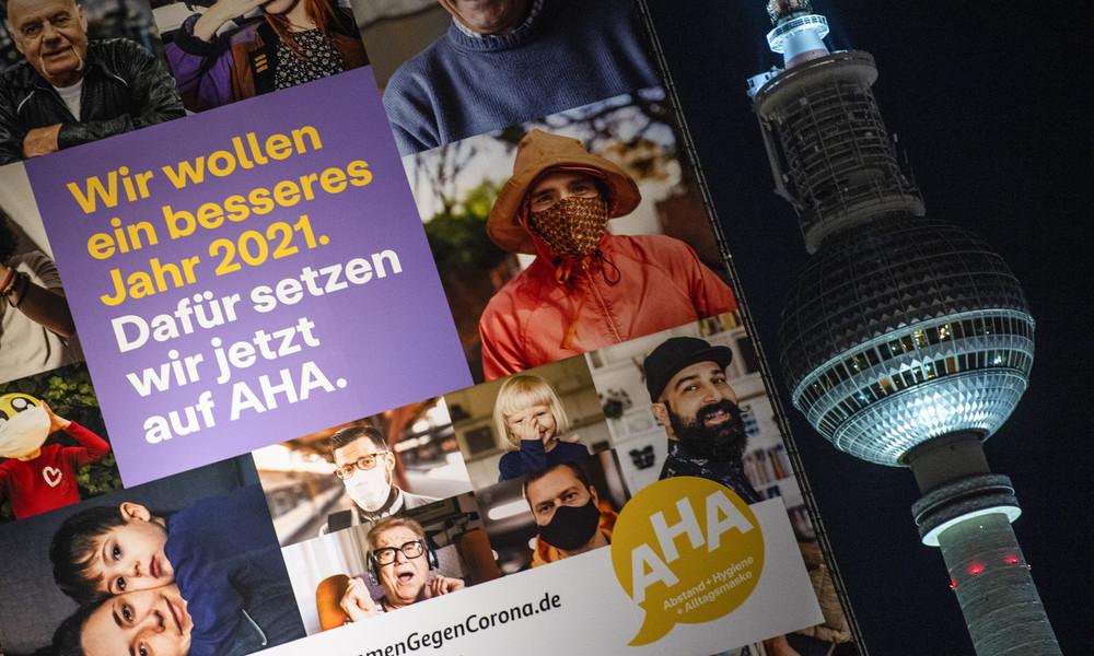 Umfrage: Zufriedenheit mit Corona-Krisenmanagement in Deutschland stark rückläufig
