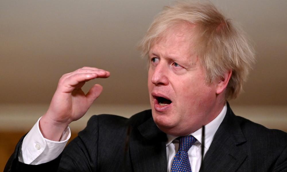"""Vierjähriger Junge droht Boris Johnson mit """"Schlag ins Gesicht"""", wenn Lockdown verlängert wird"""