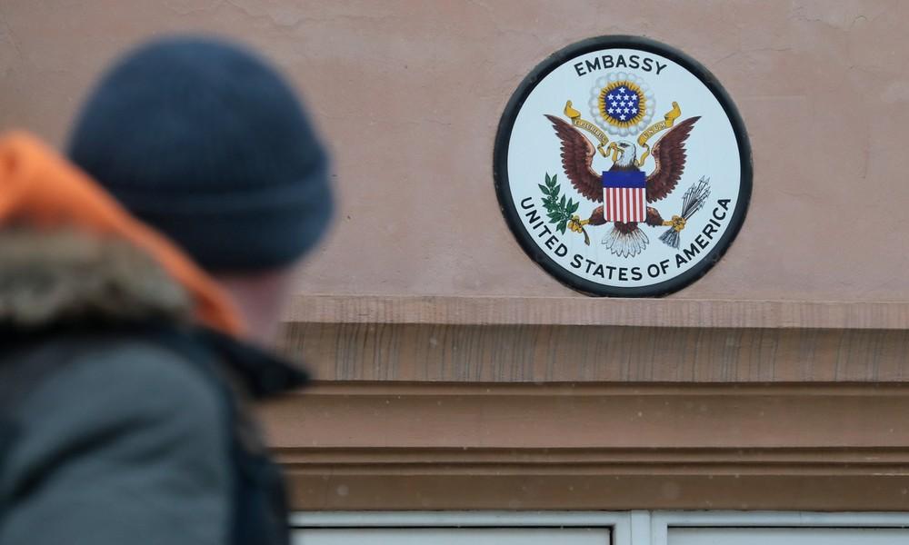 Russisches Außenministerium warnt US-Botschaft vor Einmischung in innere Angelegenheiten
