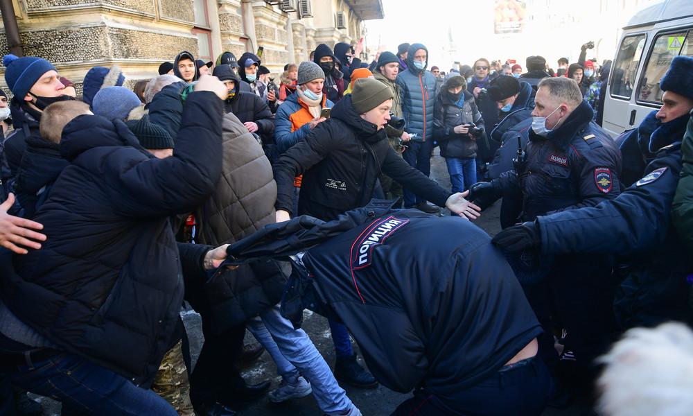 Russland: Demos für Alexei Nawalny – Festnahmen bei nicht genehmigten Protestaktionen