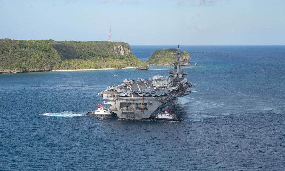 USA schicken Flugzeugträgergruppe ins Südchinesische Meer