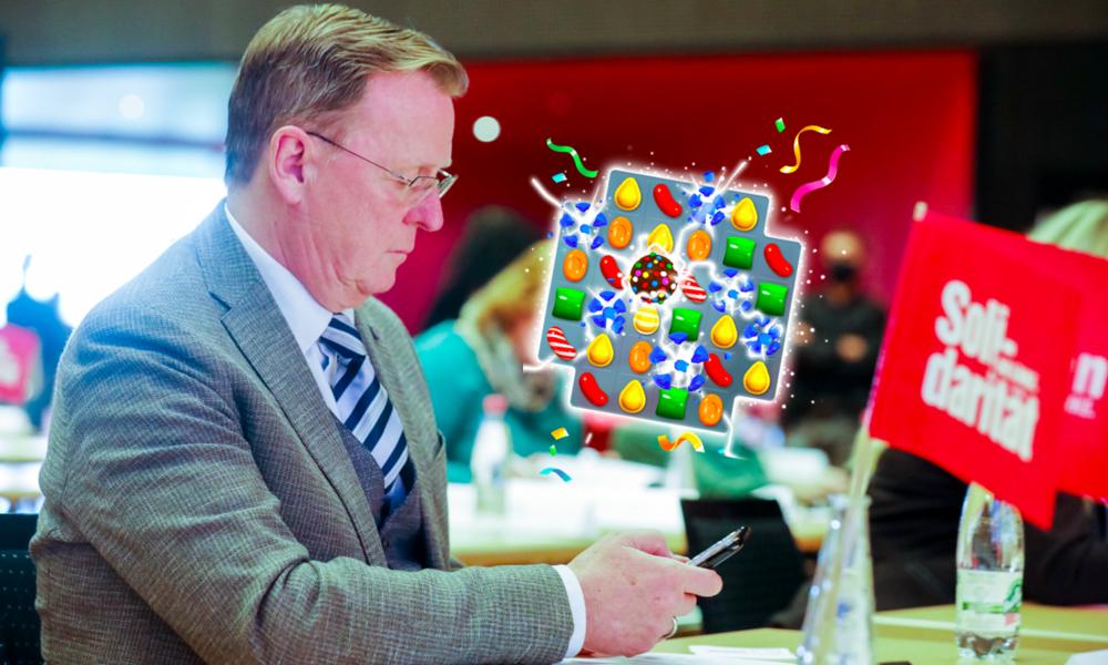 """""""Merkelchen"""": Wirbel um Ramelow-Daddelei während Ministerpräsidentenkonferenz"""