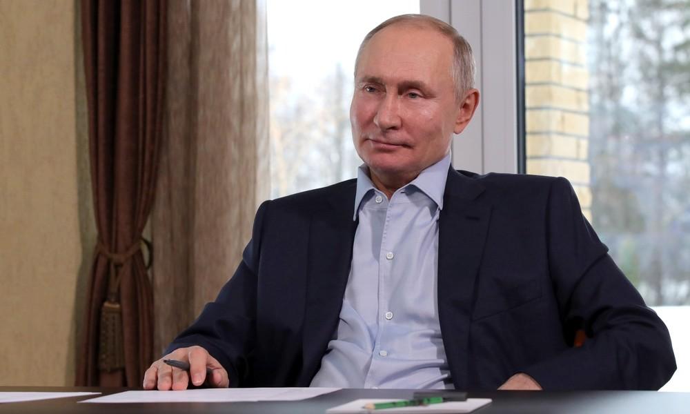 """Wladimir Putin dementiert Berichte über Privatpalast am Schwarzen Meer: """"Nichts davon gehört mir"""""""