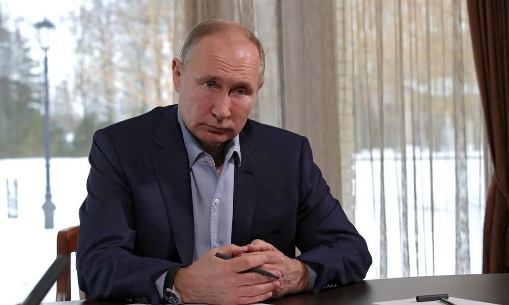 """Putin über Proteste in Russland: """"Alle haben Recht auf ihre Meinung, aber im Rahmen des Gesetzes"""""""