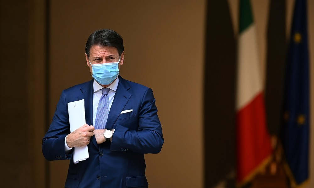 Italien: Ministerpräsident Conte bietet seinen Rücktritt an