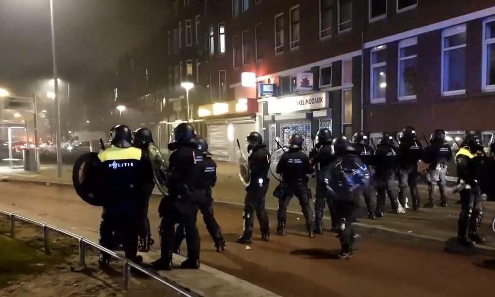 Live aus den Niederlanden: Massive Anti-Lockdown-Proteste gehen weiter