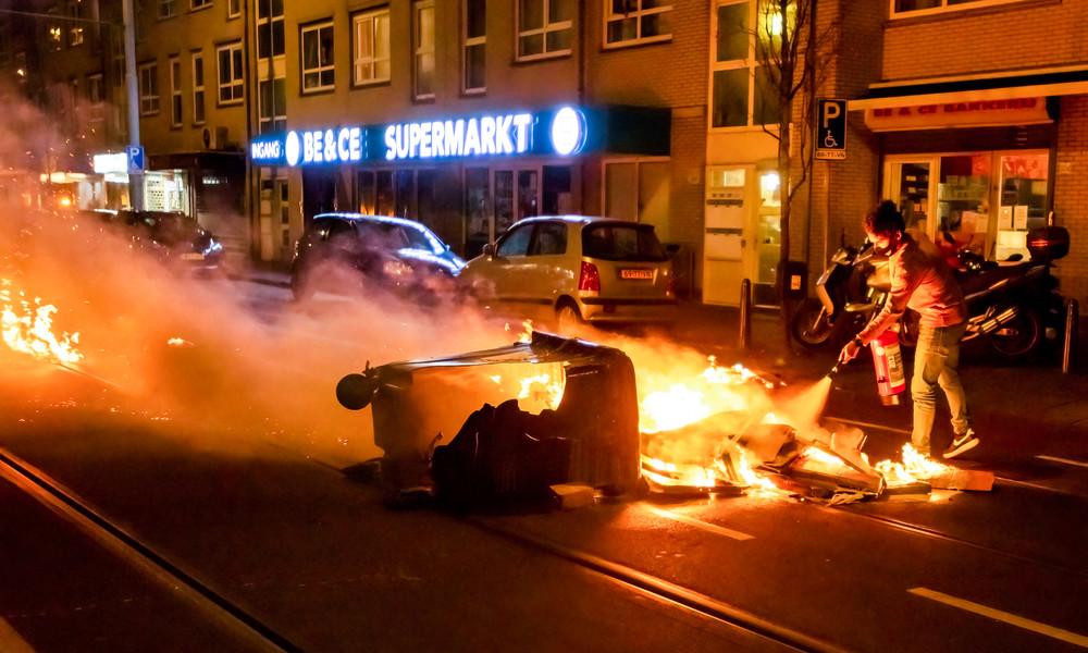 Niederlande: Die nächste Krawallnacht – Straßenkämpfe zwischen Polizei und Demonstranten