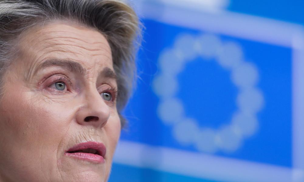 EU-Kommissionspräsidentin Ursula von der Leyen hält Rede beim Weltwirtschaftsforum