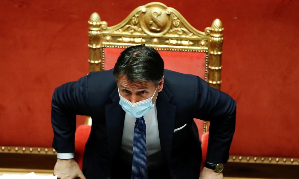 Regierungskrise in Italien: Ministerpräsident Giuseppe Conte tritt zurück