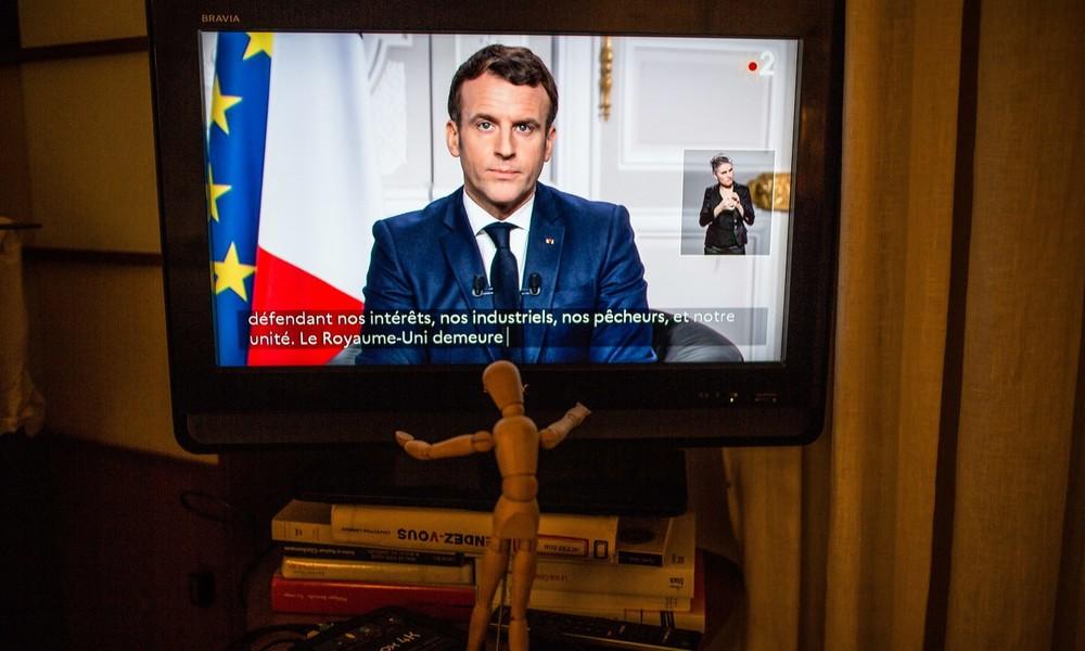 LIVE: Frankreichs Präsident Emmanuel Macron hält Rede beim Weltwirtschaftsforum