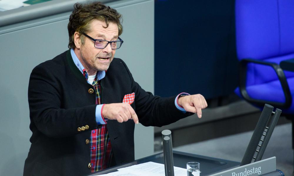 Diether Dehm zu Grünen-Forderung nach Stopp von Nord Stream 2: Dafür Frackinggas aus Pentagon-Rektum