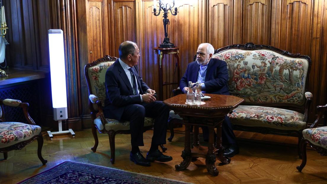Post-Trump-Zeit: Iranischer Außenminister trifft sich mit Lawrow in Moskau