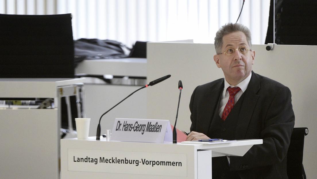 Ex-Verfassungschef Maaßen: Ein Diener zweier Herren?