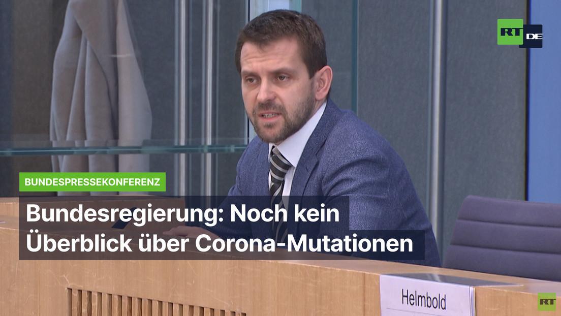 Bundesregierung: Noch kein Überblick über Corona-Mutationen in Deutschland