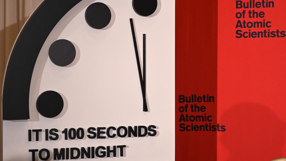 Weltuntergangsuhr bleibt auf 100 Sekunden vor Mitternacht