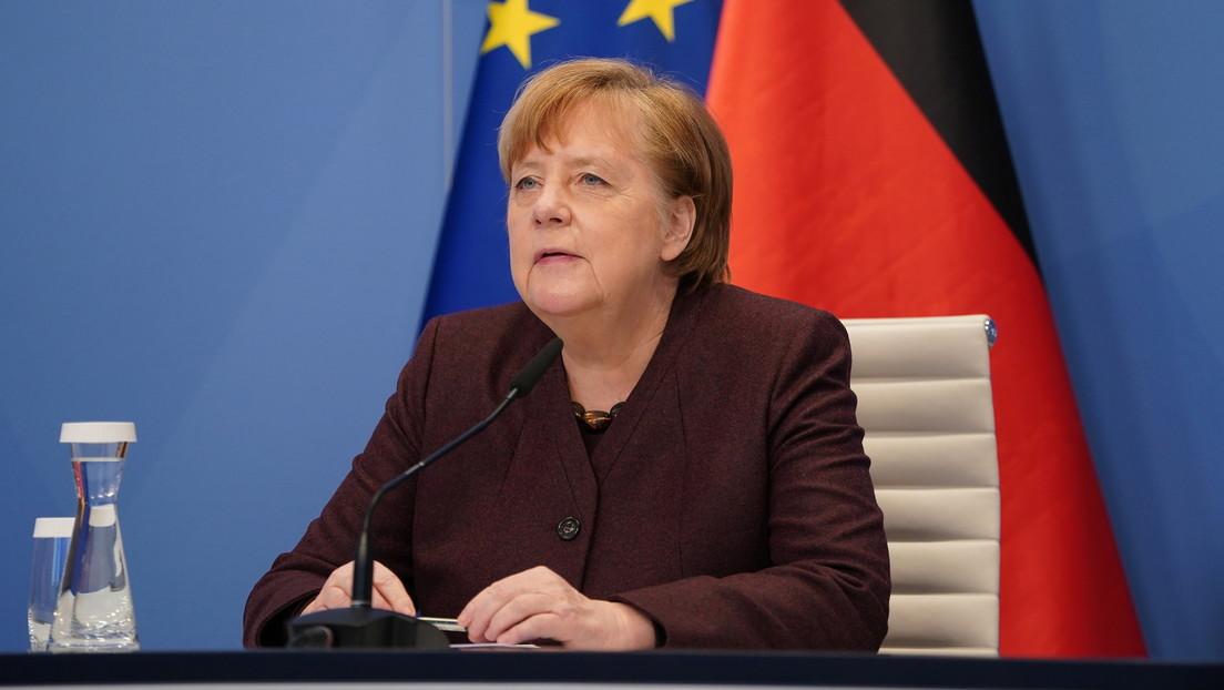 """Angela Merkel auf dem Weltwirtschaftsforum: """"Brauchen wir wirklich diesen Great Reset?"""""""