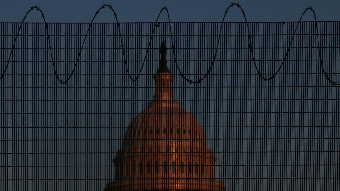 """Angst und Panik in Washington: Pelosi spricht von """"innerem Feind"""" im Kongress"""