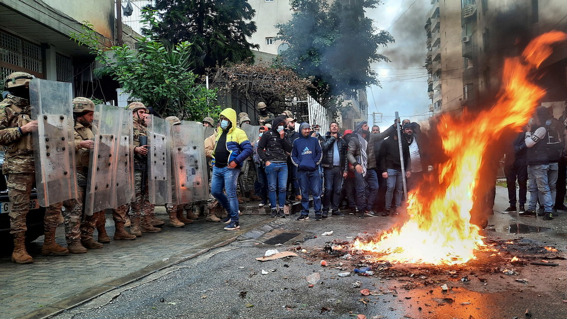 Heftige Proteste gegen Armut und Lockdown im Libanon