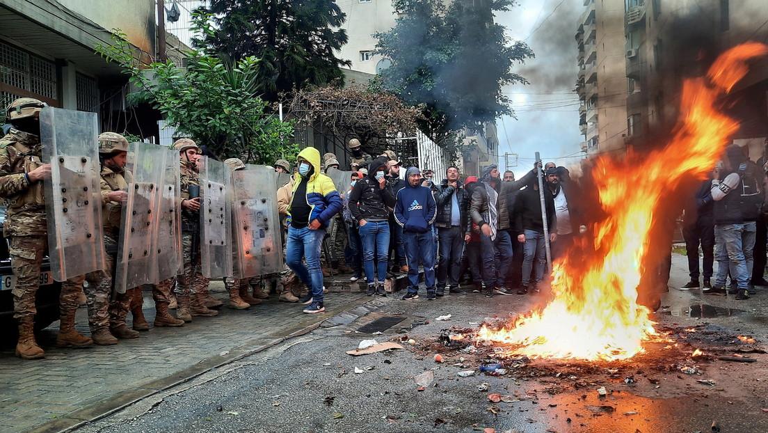 Mindestens ein Toter bei Protesten gegen Armut und Lockdown im Libanon