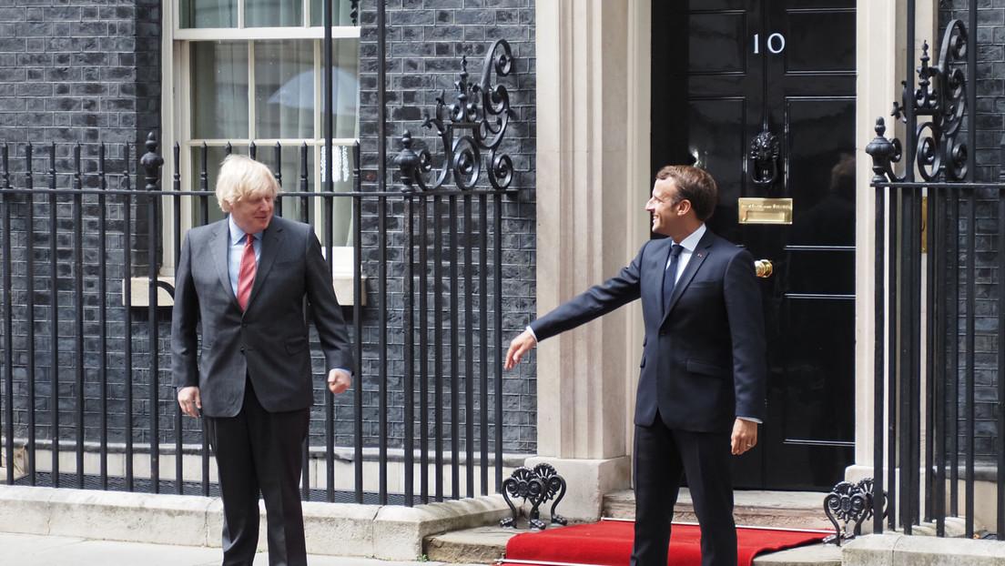 """Macron warnt Boris Johnson bei seiner Wahl der Verbündeten: """"Halbe Freunde sind kein Konzept"""""""
