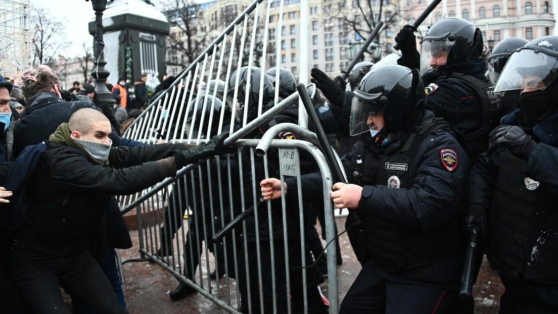 Medien: Personaldaten von Polizeikräften tauchen nach Demos für Alexei Nawalny auf Telegram auf
