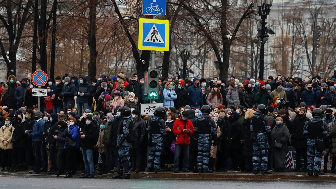 Russische Ombudsfrau für Kinderrechte verurteilt Manipulationen bei Demos für Alexei Nawalny