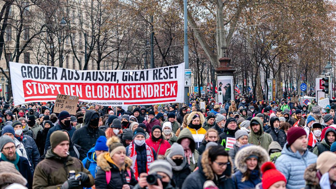 Wien: Tumulte bei nicht genehmigter Demonstration gegen Corona-Maßnahmen