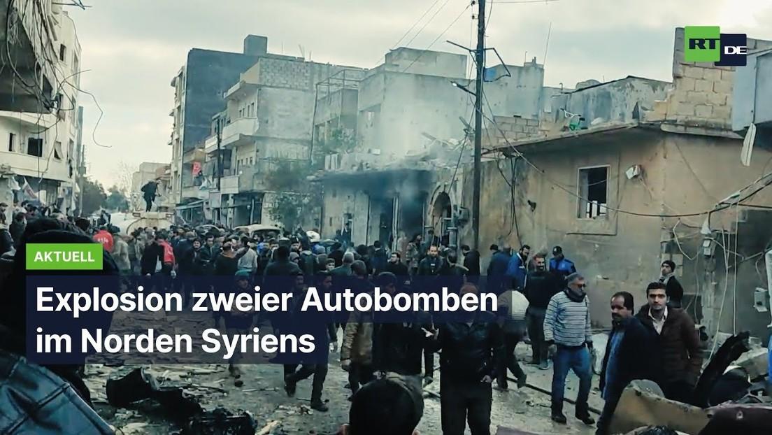 Tote bei Explosion zweier Autobomben im Norden Syriens
