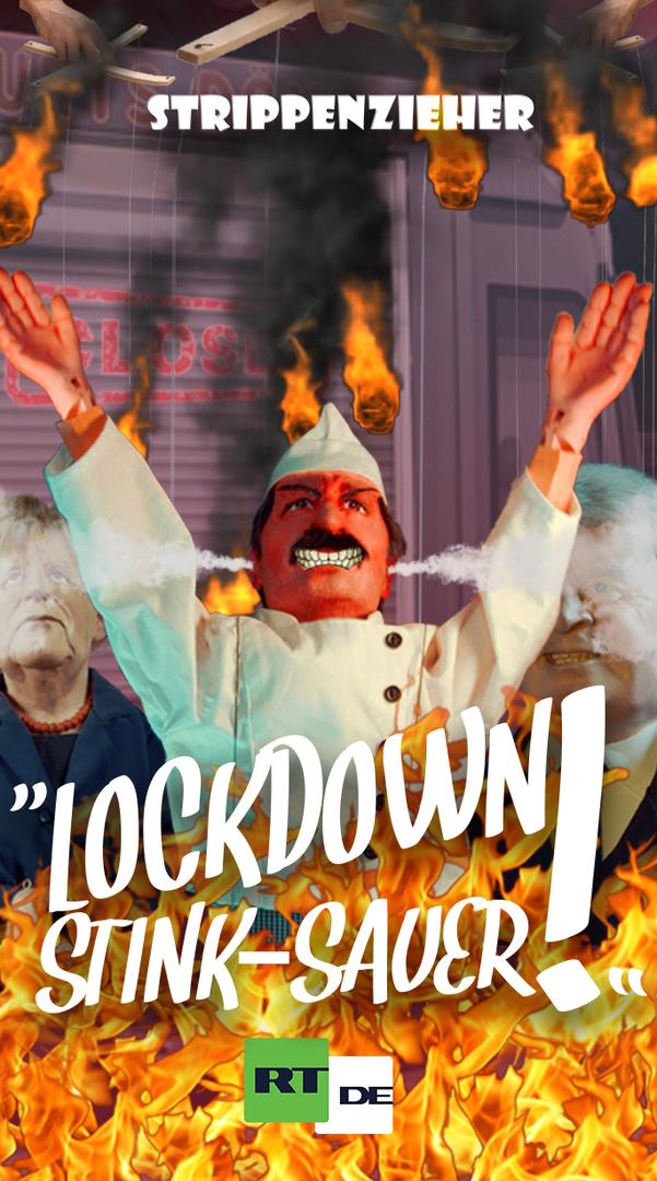 Lockdown stink-sauer | Einmal scharfe Regeln zum Mitnehmen, bitte | Strippenzieher