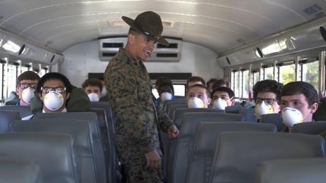 US-Militär macht die Probe: Soldaten trotz hartem Lockdown positiv auf Corona getestet