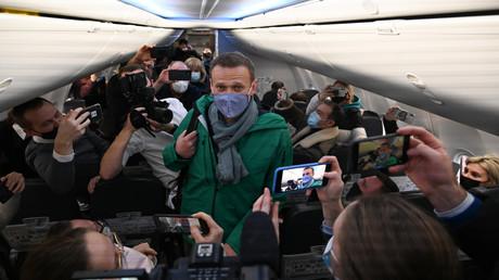 Medienrummel um die Rückkehr Nawalnys: Das Bild für den Westen