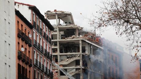 Gewaltige Explosion erschüttert Innenstadt von Madrid