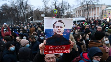LIVE: Pro-Nawalny-Proteste in Moskau