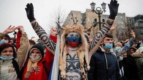 """""""Das ist absolute Einmischung"""": Russland wirft USA Unterstützung der Proteste in Moskau vor"""