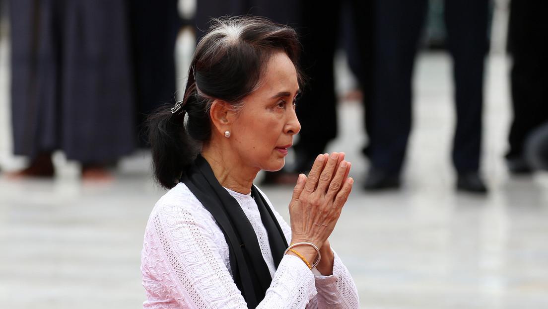 Myanmar: Aung San Suu Kyi ruft zu Protesten gegen Putsch auf – Berichte