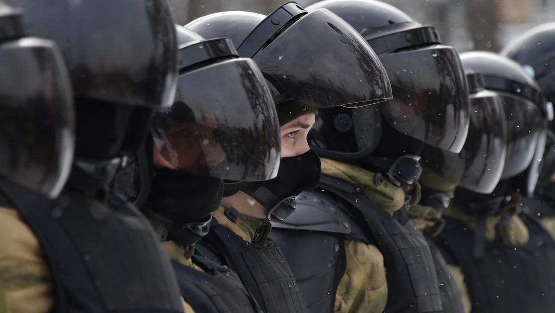 Kremlsprecher über Proteste in Russland: Keine Gespräche mit Hooligans und Provokateuren