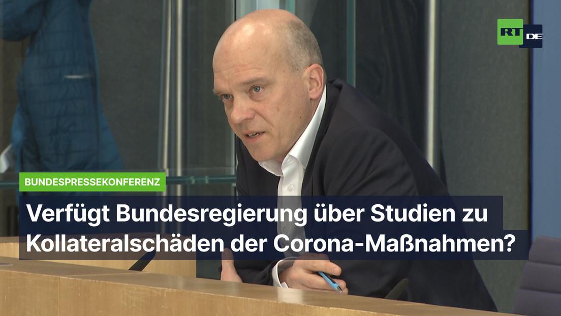 """Bundesregierung zu Kollateralschäden der Corona-Maßnahmen: """"Bislang keine Auffälligkeiten"""""""