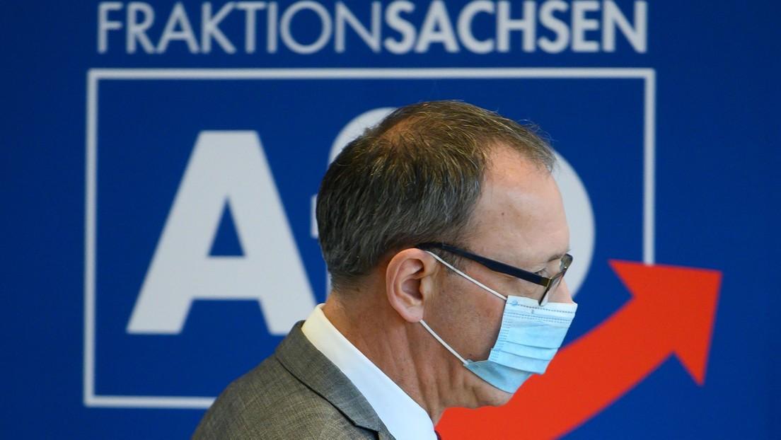 Medienbericht: AfD Sachsen wird Verdachtsfall für Verfassungsschutz