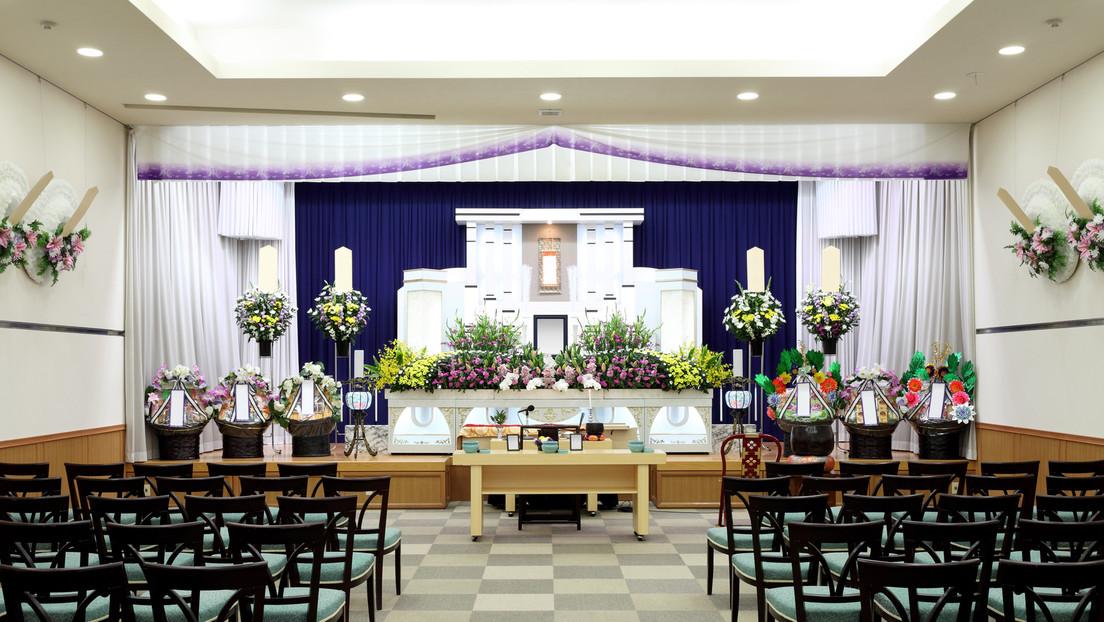 Osaka versendet an positiv Getestete Werbung für Bestattungsunternehmen