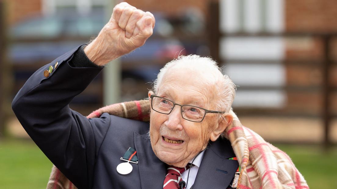 Nach COVID-19-Erkrankung: Britischer Nationalheld Tom Moore ist tot
