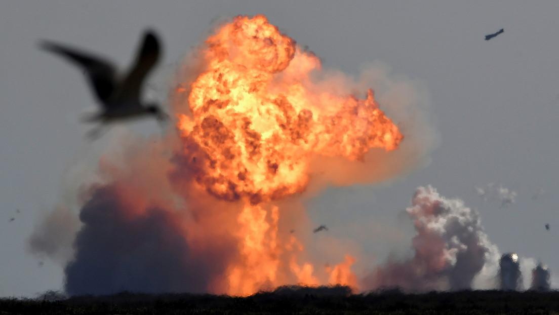 Zweite SpaceX-Rakete explodiert bei Testflug