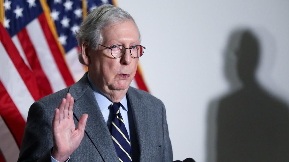 Senatschef der Republikaner distanziert sich von Abgeordneter Greene