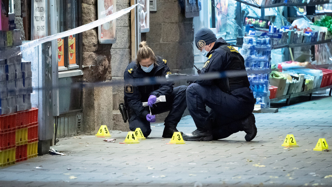 Schweden: Fast 80 Prozent mehr Schießereien in Stockholm im Jahr 2020