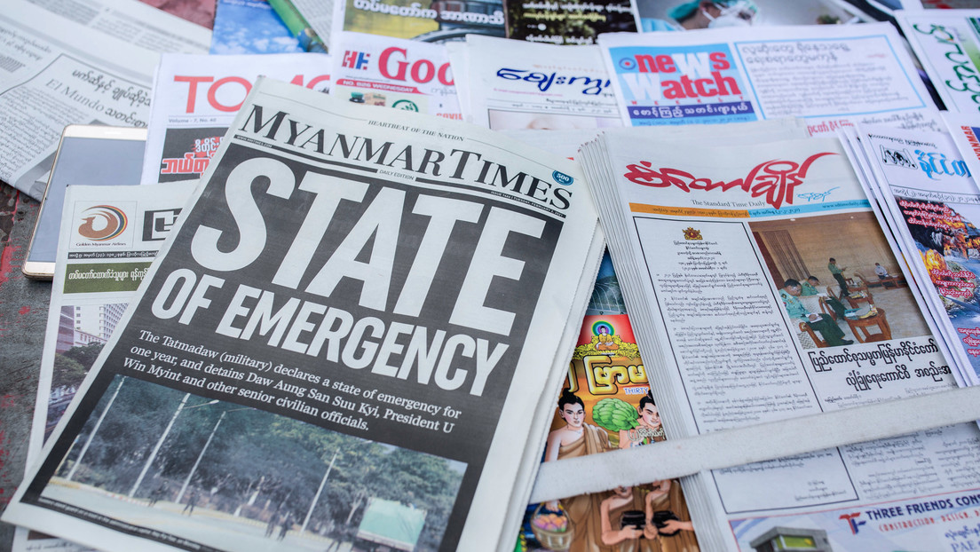 Chinesische Parteizeitung warnt: Westen sollte sich nicht in Myanmar einmischen
