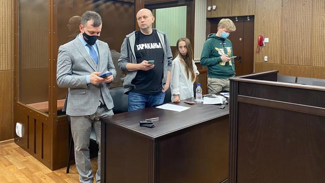 25 Tage Haft für russischen Chefredakteur wegen Anstiftung zur Teilnahme an Pro-Nawalny-Protesten