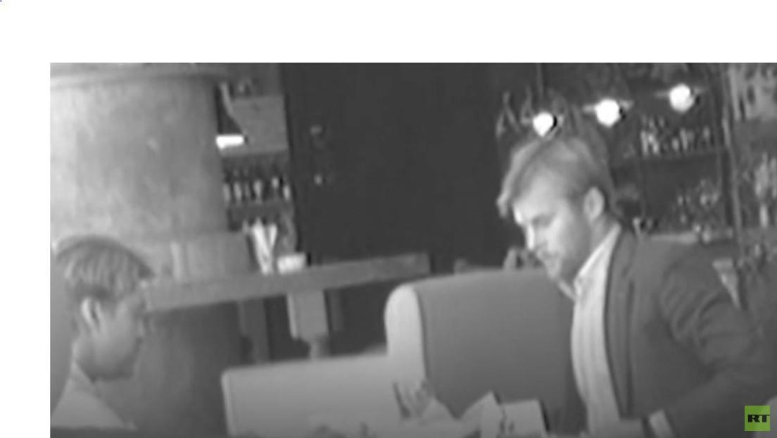 """""""Aktive Arbeit mit Opposition"""": FSB-Video zeigt Nawalny-Mitstreiter mit britischem Diplomaten"""